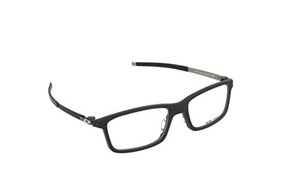 Oakley Pitchman OX8050-0155 Eyeglass Satin Black Frame Size 55-18 at ...