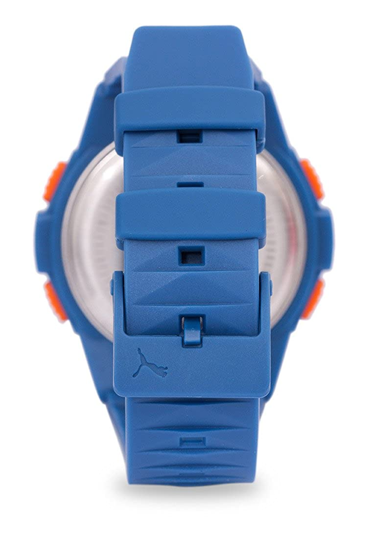 08746f03a0cd Puma Vertical - Reloj digital con correa de poliuretano para hombre ...