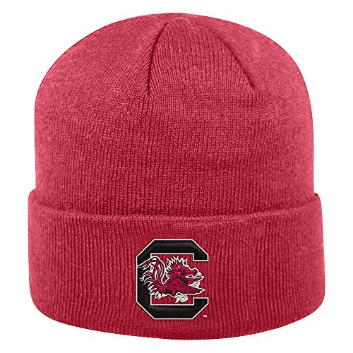 - Top of the World South Carolina Fighting Gamecocks Men's Winter Knit Hat Icon, Garnet, One Fit