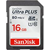 SanDisk ウルトラ プラス SDHC UHS-I カード 16GB  [国内正規品] SDSDUSC-016G-EPK [エコパッケージ]