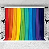 Kate 7x5ft Colorful Rainbow Backdrop for Photography Rainbow Colors Background Children Photography