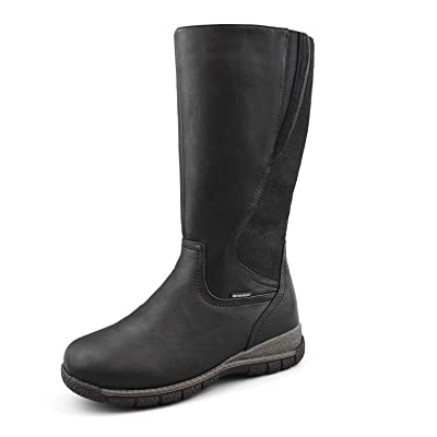 Comfy Moda Women's Waterproof Wool-Lined Cold Weather Boots Alberta   Snow Boots