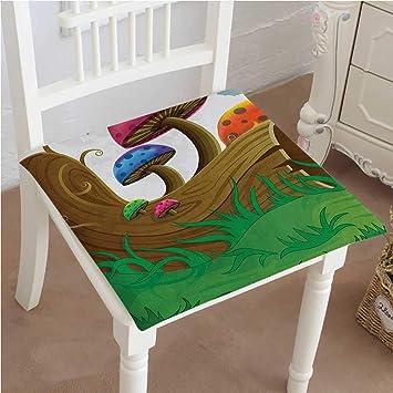 Amazon.com: Mikihome - Almohadilla para silla decorativa ...
