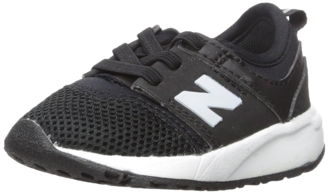 New Balance - unisex-baby 775v2 Shoes, Size: 7.5 W US Toddler, Color: Black/White by New Balance