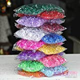 BIG-DEAL_Crystal Color Stones Acrylic Beads Glass Hydroponics Rocks Fish Tank Decorative vase Filming Props 5 Packs About 900Pieces