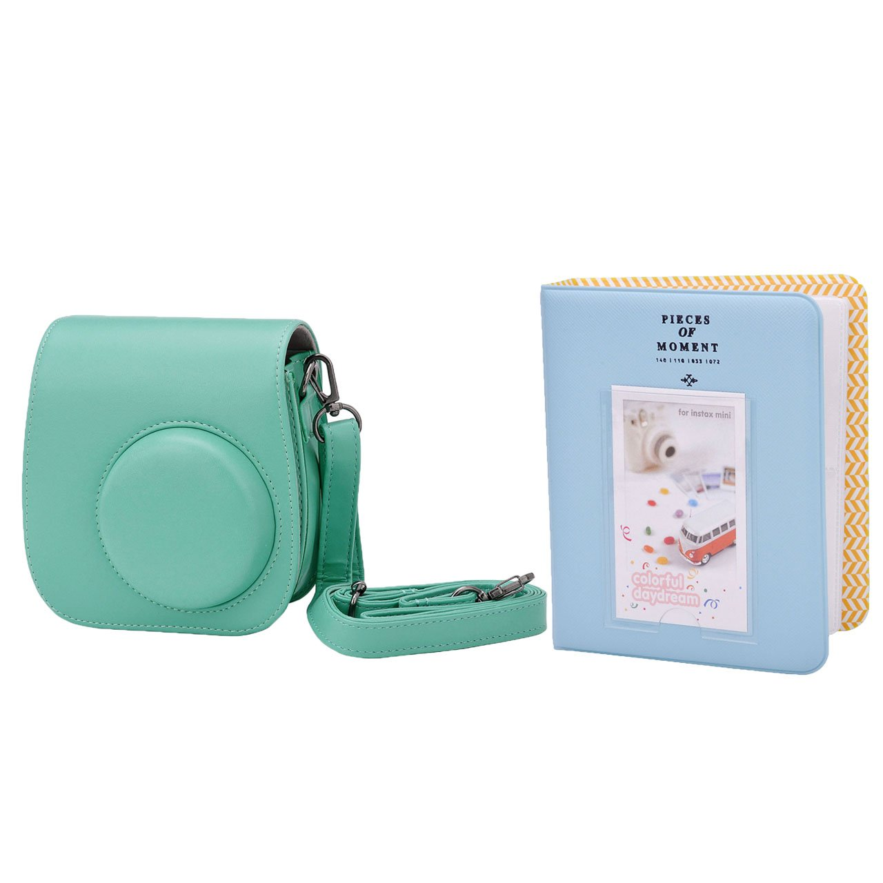 Mogoko Essential Bundle Fr Fujifilm Fuji Instax Kamera Mini Album Polaroid 2nan Colorful