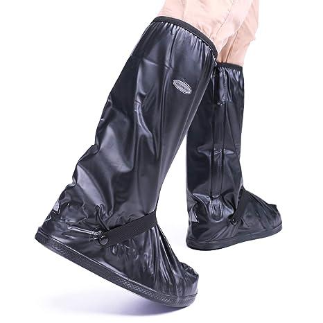 Amazon.com: Arunners - Botas de lluvia para motocicleta ...