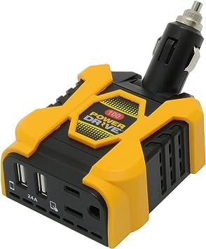 Truck Power Inverter PD100D PowerDrive 100 Watt Direct Plug Power Inverter Car