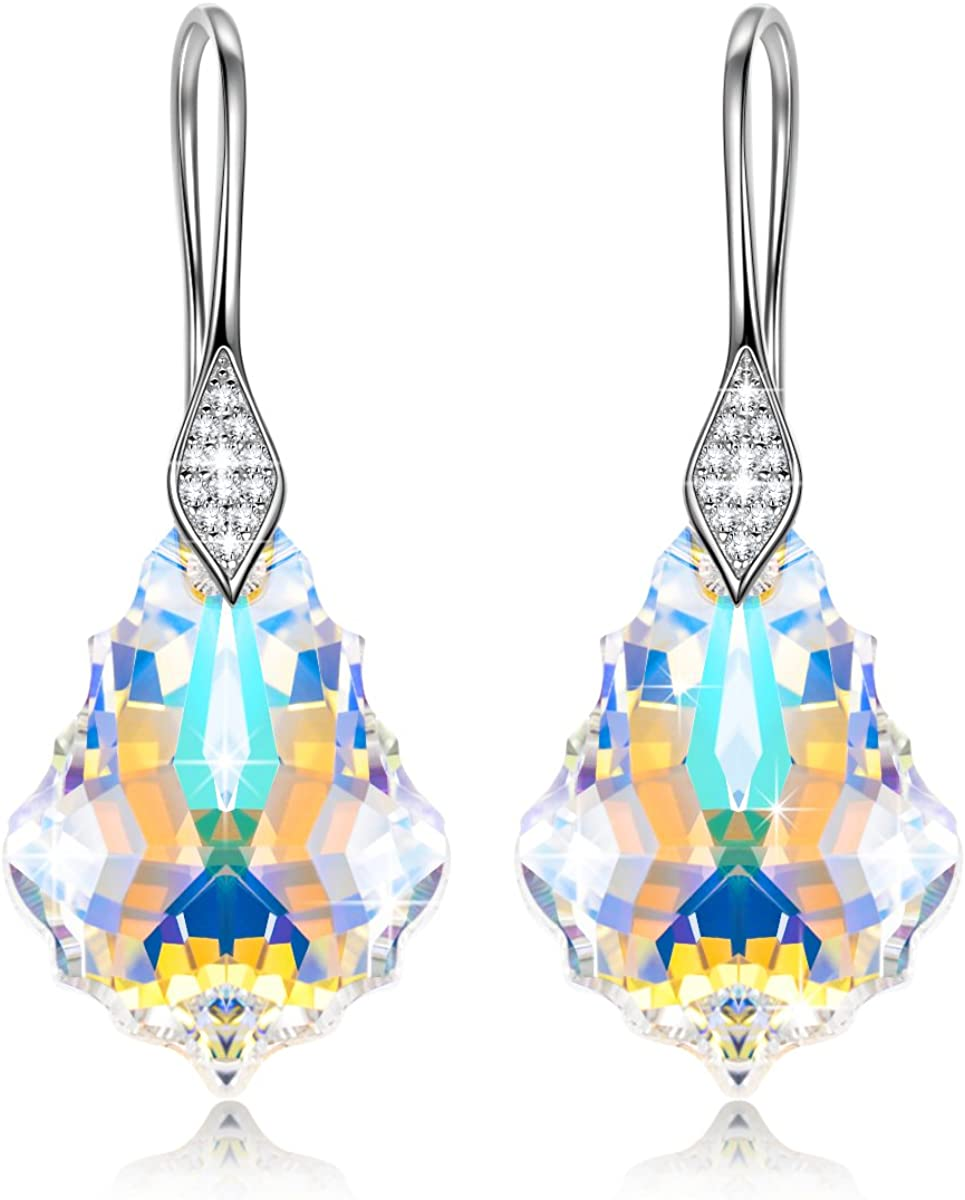 Alex Perry Regalo Pendientes Mujer Plata de ley 925 con Cristales de Swarovski Joyería para Elle Su Madre Amante Cumpleaños Aniversario