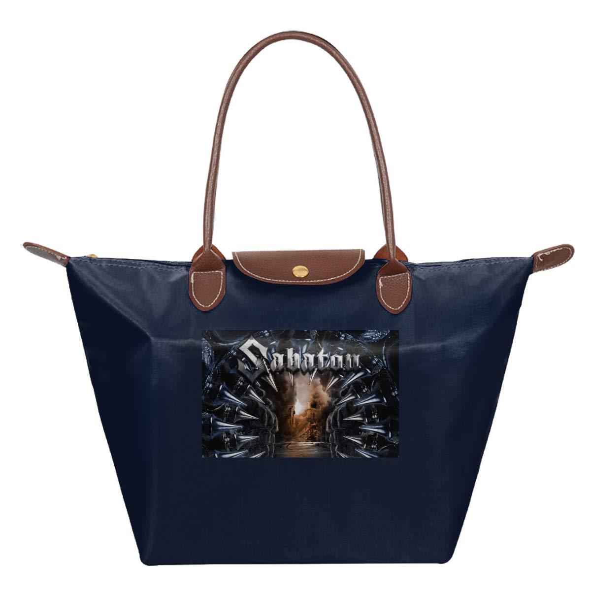 Sabaton Attero Dominatus Waterproof Leather Folded Messenger Nylon Bag Travel Tote Hopping Folding School Handbags