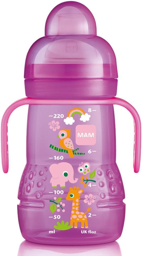 Taza de iniciaci/ón relajante 150 ml de MAM rosa