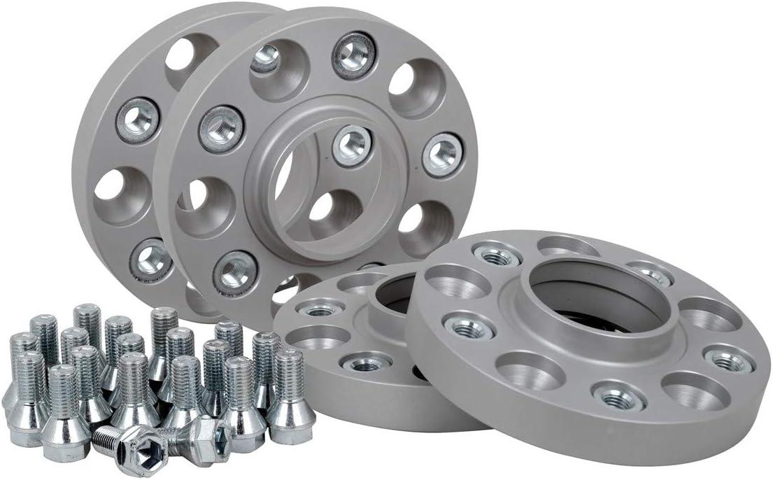 T/ÜV-Teilegutachten 25 mm pro Scheibe // 50 mm pro Achse inkl Spurverbreiterung Aluminium 4 St/ück