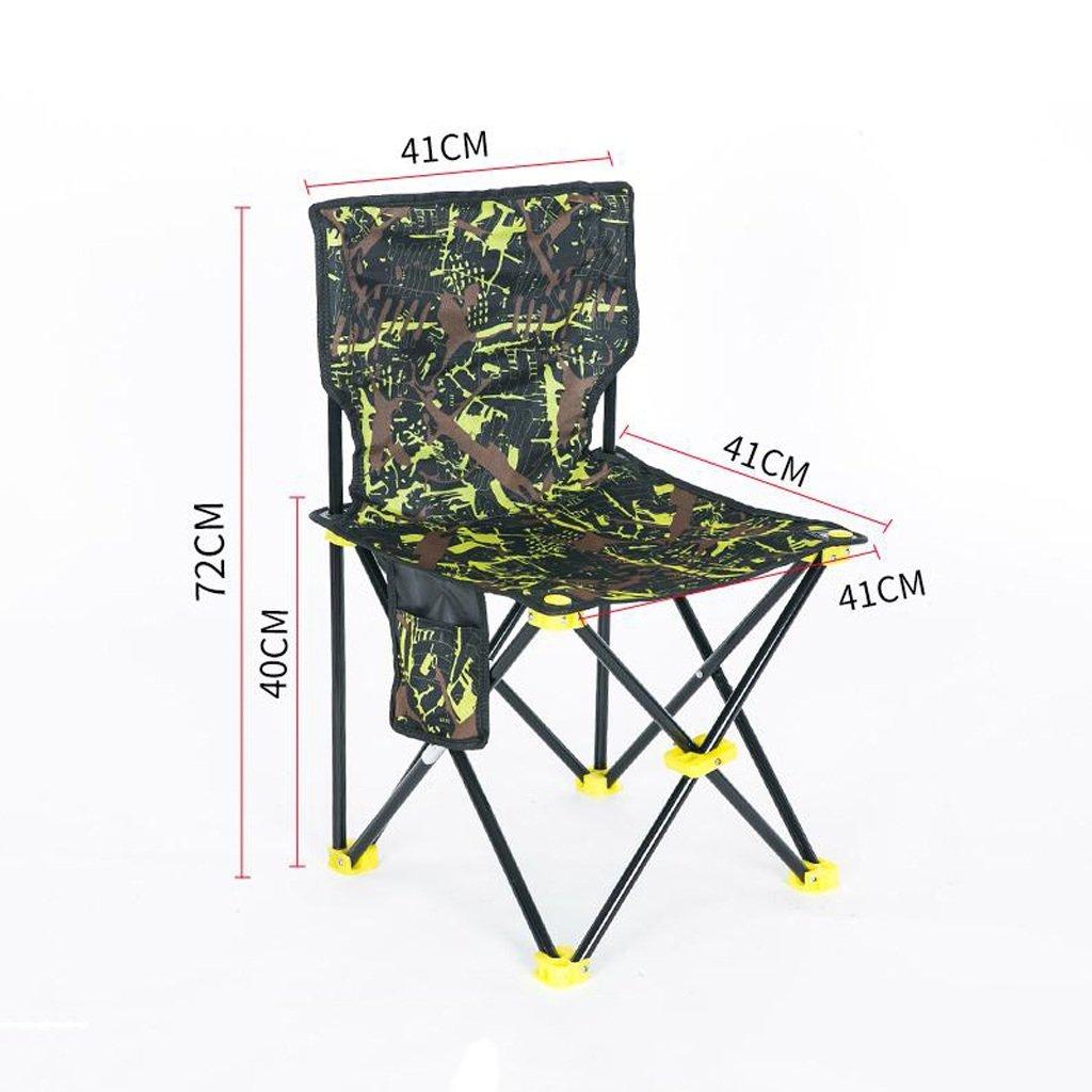 ベンチ 釣りの椅子屋外折りたたみ椅子ポータブルキャンプのビーチの絵画のスケッチの椅子 (A++) (色 : C, サイズ さいず : W41cm*H72cm) B07DHK2N2L  C W41cm*H72cm