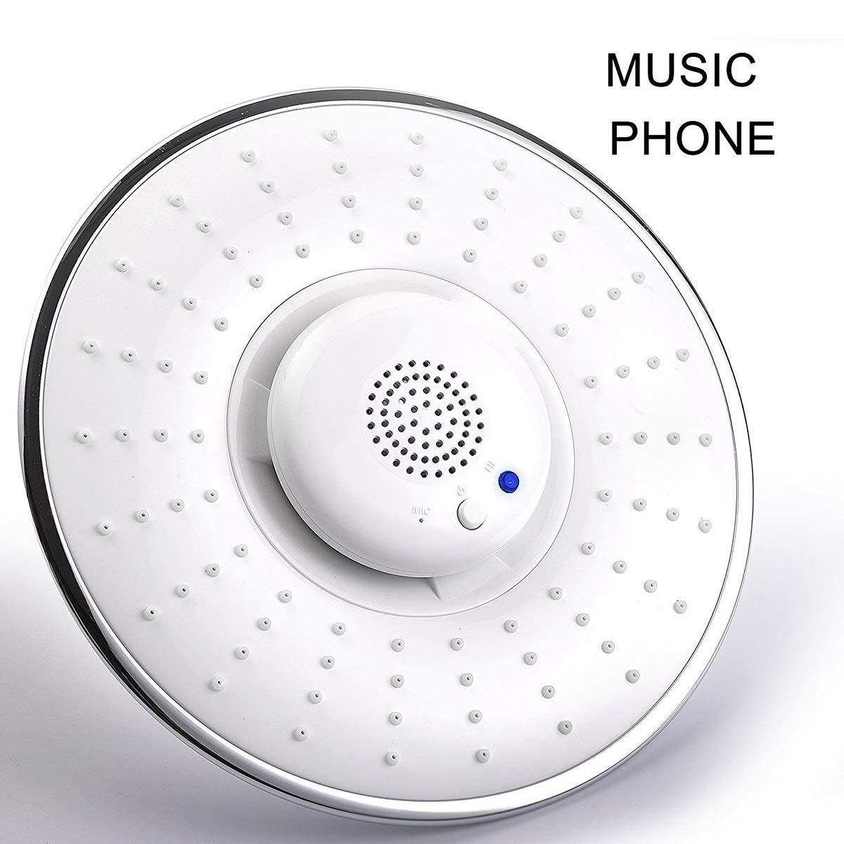 最新作 アップグレードレインシャワーヘッド B07KXW16MG、クリエイティブホームカラフルな 音楽の電話シャワートップスプレー B07KXW16MG, kiyokamorimoto 日見フランソア:cd2cf567 --- arianechie.dominiotemporario.com