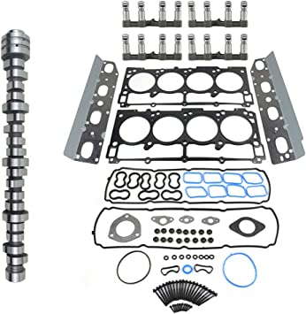 Amazon Com Non Mds Lifters Camshaft Kit For 300 Dodge Charger Ram 1500 Grand Cherokee 5 7 Hemi V8 2009 2018 Replace 53022372aa 53021720bb Geluoxi Automotive
