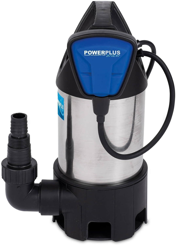 VARO POW67915 Klarwasser Tauchpumpe Wasserpumpe Schmutzwasserpumpe Kellerpumpe Brunnenpumpe 13000 Liter pro Stunde F/örderungsmenge mit Schwimmerschalter