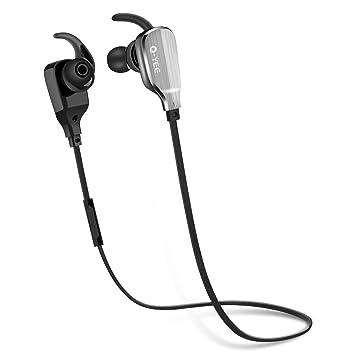 Q-yee Auriculares Bluetooth de botón, auriculares estéreo inalá