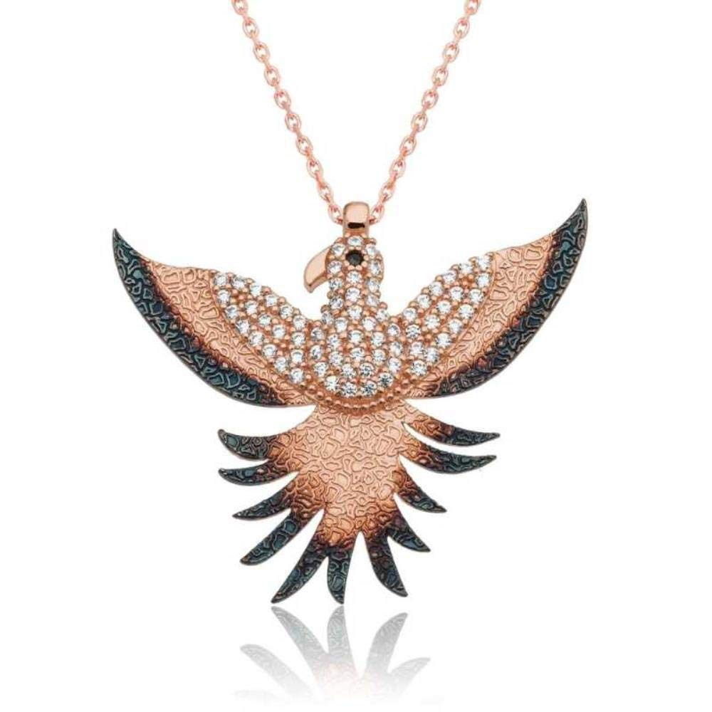 Amazon KOKANA Phonix Bird Necklace For Women And Girls Girlfriend Birthday Gift Gumush Jewelry