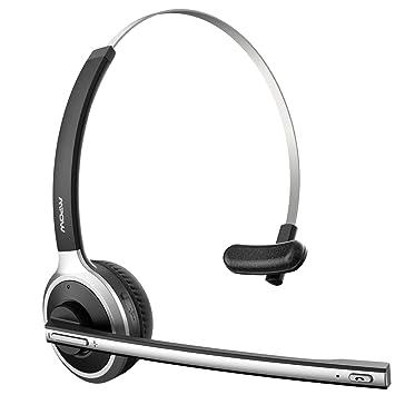 mpow pro truck driver bluetooth headset