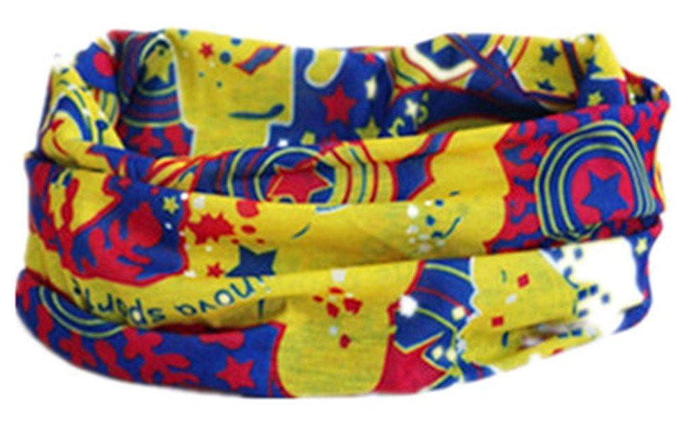Bandanas sans coutures Multifonctionnel Sunscreen Incroyable Style Pour Moto motifs cyclisme et sports d'hiver et accessoires du vê tement TJ003 f
