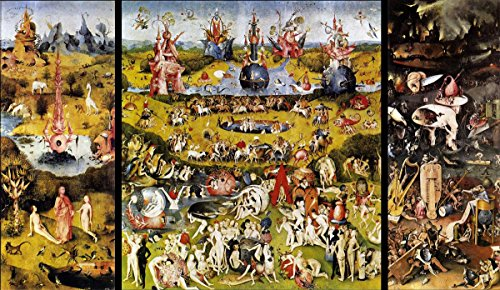 (Gifts Delight Laminated 36x21 Poster: Hieronymus Bosch Paintings)