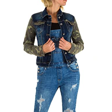 huge discount 1095a 1a24a Damen Jacke Übergangsjacken Trend Anorak Fashion Mozzaar ...