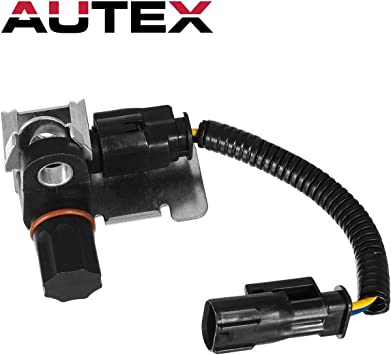 AUTEX 1Pcs Rear Axle Mounted ABS Wheel Speed Sensor ALS100 970024 ABS212 ABS314 compatible with Dodge B1500 /& Dakota 1998//Dodge Durango 1998-1999//Dodge Ram 1500 /& 2500 /& 3500 Pickup 1998-2001