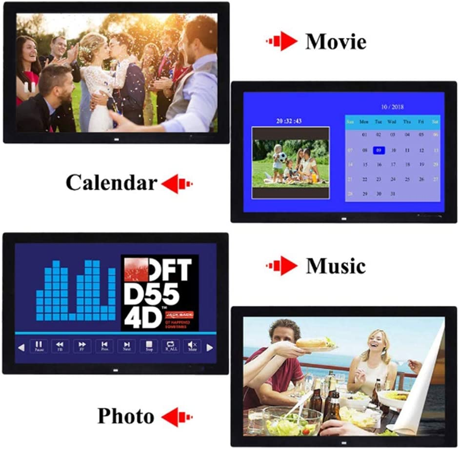 HD Wide Screen Advertising Machine MP3//Photo//Video Player with Remote Control 6:10 Mengen88 17 Inch Digital Photo Frame Digital Picture Frame Advertising Media Player 1440x900