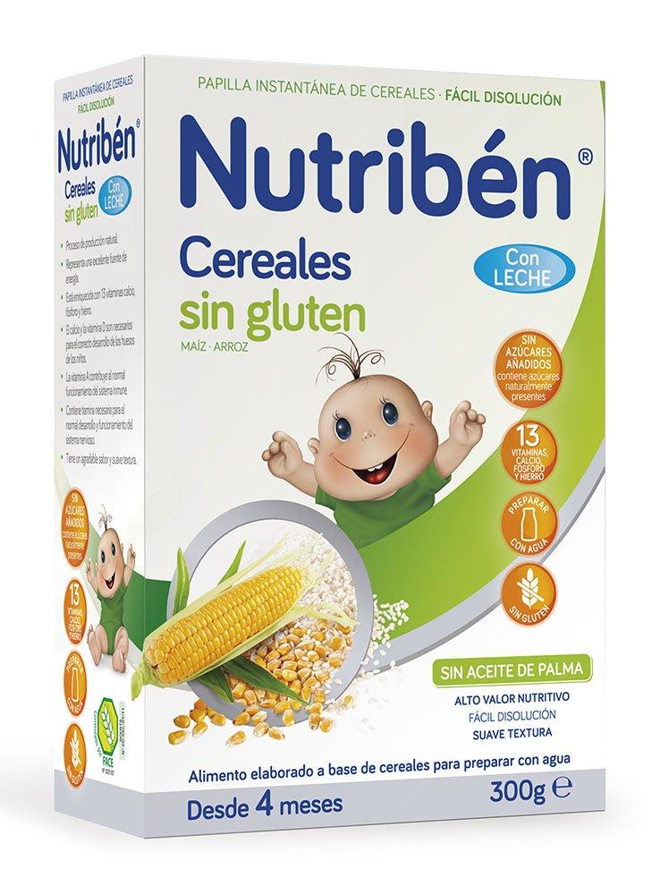 Nutribén Papilla Cereales sin Gluten Leche Adaptada - 300 gr
