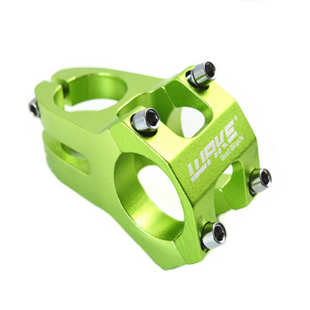 Wake grün Fahrrad MTB kurz Vorbau Legierung Aluminium 31, 8mm Durchmesser Mountain Bike Downhill DH Lenker Stiele grün