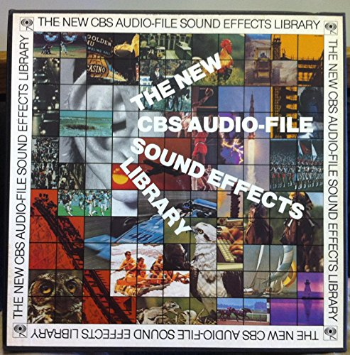 The New CBS Audio-File Sound Effects Library Vol. One vinyl record