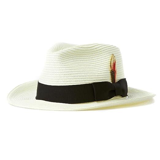 97b7d34fb Jaxon Summer C-Crown Toyo Straw Fedora Hat