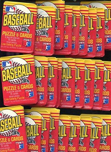 1985 Donruss Baseball 36 Wax Pack Equals Box Kirby Puckett Rookie (1985 Kirby Puckett Rookie Card)