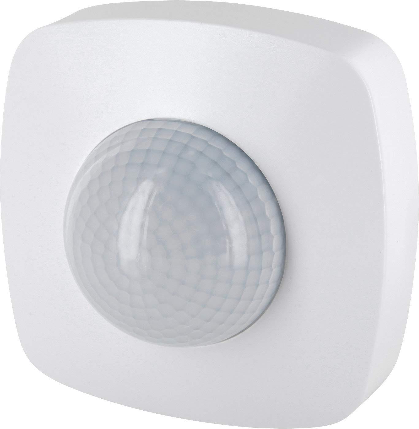 Aufputz infrarrojos Detector de movimiento 360 ° 230 V - con sensor de oscuridad - Alcance 20 m - LED Adecuado a partir de 1 W de 2000 W: Amazon.es: ...