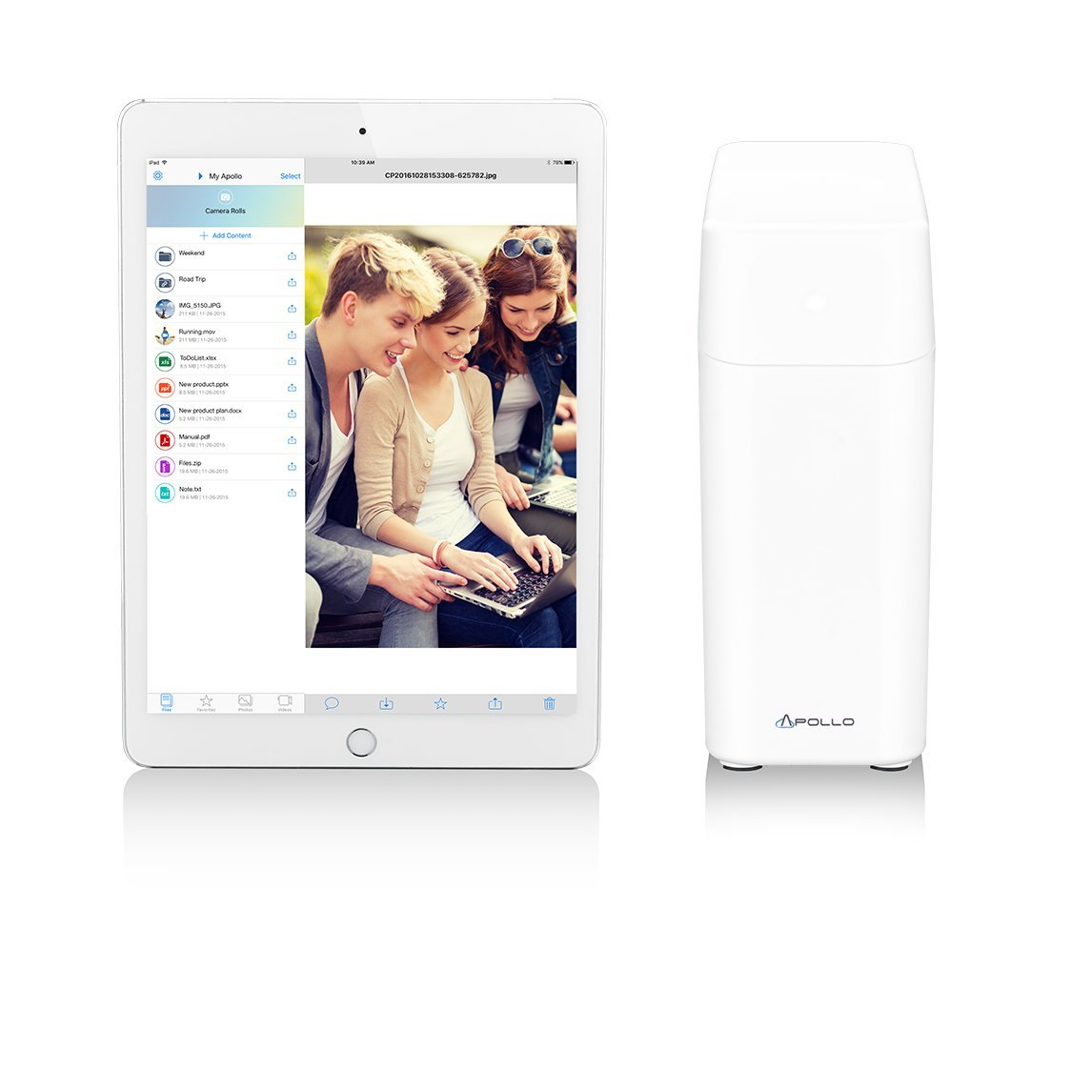 Promise Apollo 4TB Personal Cloud Storage Device by Promise Technology (Image #4)