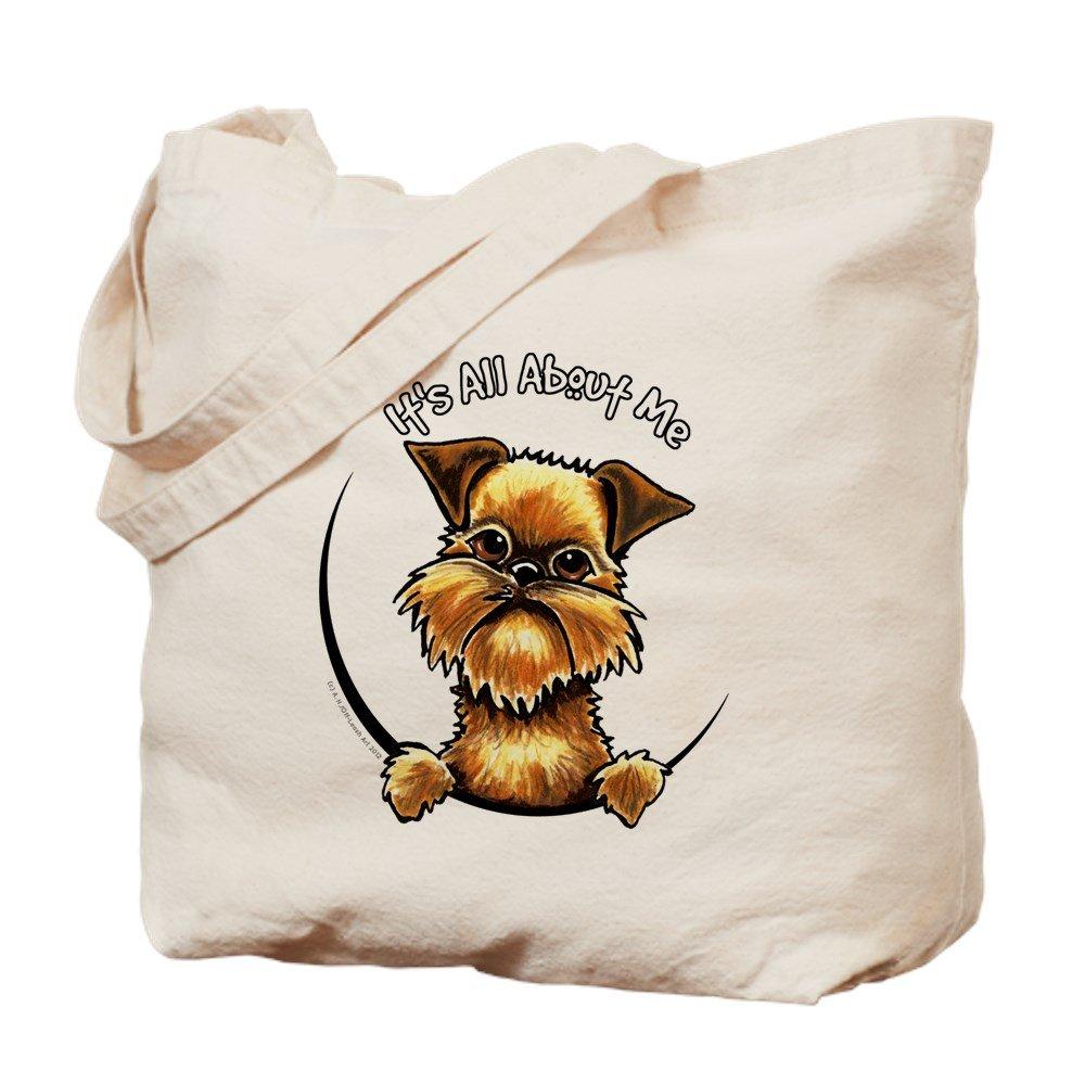 CafePress – Brussels Griffon IAAM – ナチュラルキャンバストートバッグ、布ショッピングバッグ B06W57SHYS