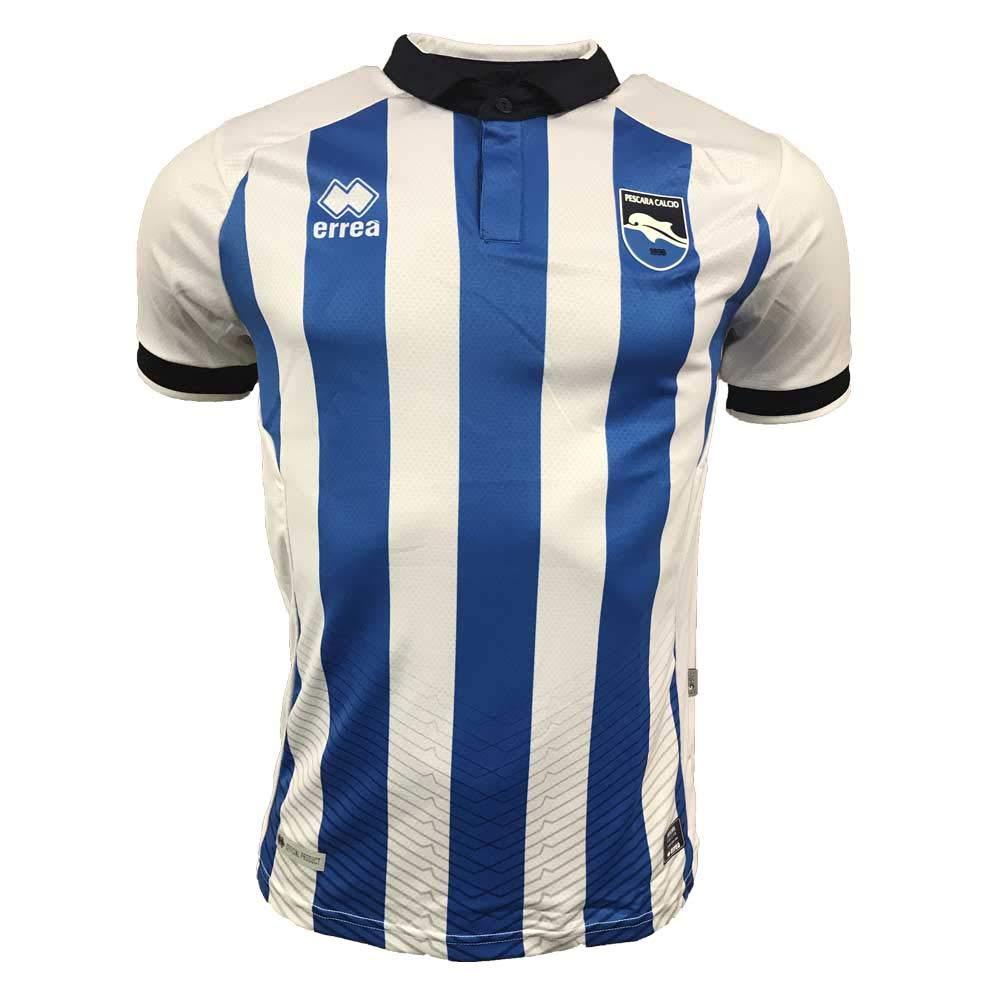 Errea 2018-2019 Pescara Home Football Soccer T-Shirt Trikot