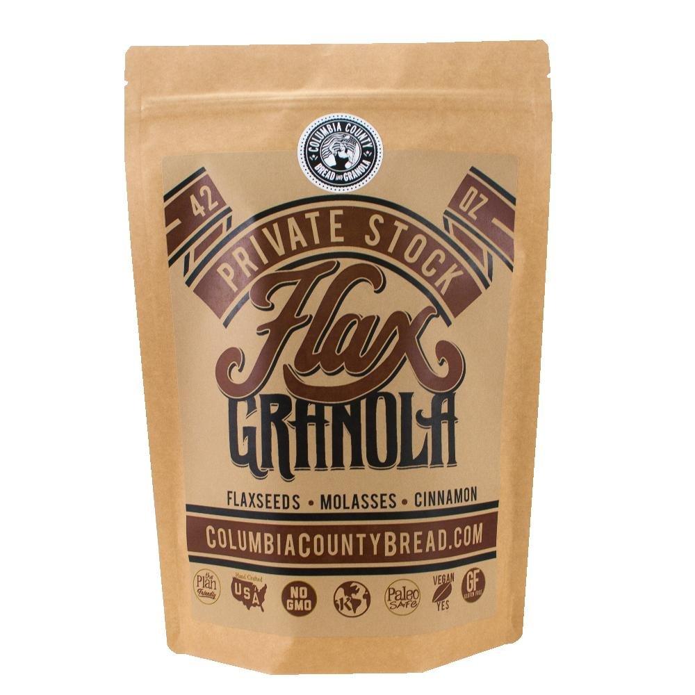Flax Granola - Plain - The Plan Friendly, Gluten Free - 42 oz