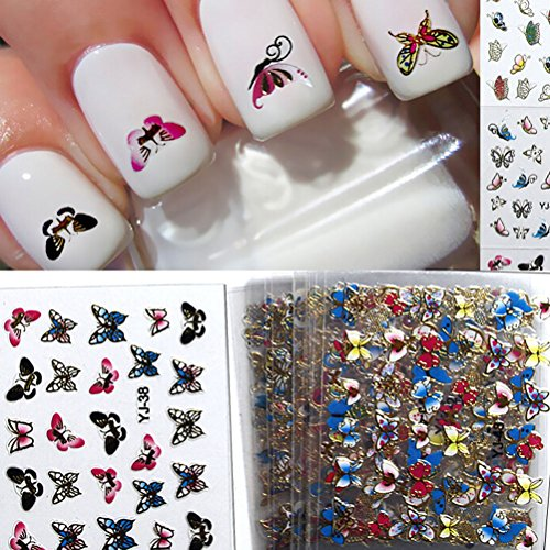 Colorful Butterfly Transfer Stickers Decoration product image