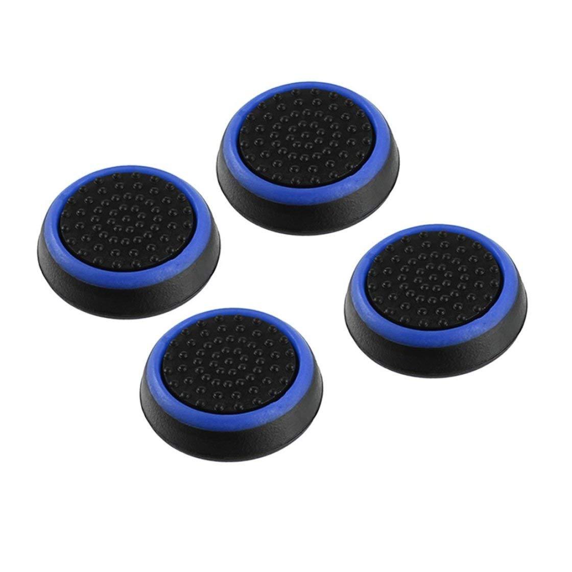 BlackPJenny 4pcs Silicone Antiscivolo Gamepad a Strisce Controller keycap manopole Copertura Protettiva per ps3 / 4 per x Box One / 360