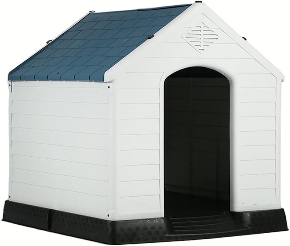 BestPet Extra Large Waterproof Indoor Outdoor Pet Shelter Plastic Dog Kennel Pet House