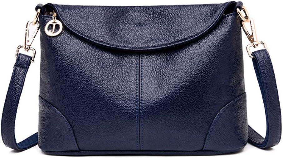 Mochila CMZ, Bolsos de Mujer, Bolso de Hombro Diagonal de Moda para Mujer, Bolso Cuadrado pequeño de Cuero Suave de Mediana Edad para Mujer