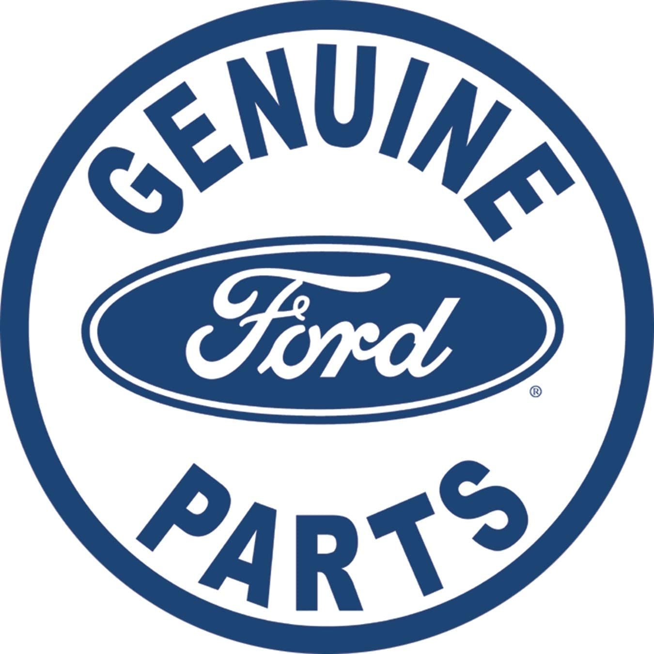 Genuine Ford Parts Old Sign Muscle Shirt Licensed Ford Truck
