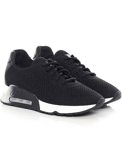 feca4af1c663f0 Ash Chaussures Lucky Baskets Noires Femme: Amazon.fr: Chaussures et Sacs