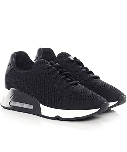 cdeeb29cb2f7fa Ash Chaussures Lucky Baskets Noires Femme: Amazon.fr: Chaussures et Sacs