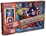 Diamond Select Toys Marvel Retro Captain America Action Figure Set, 8