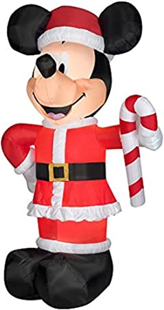 Amazon.com: Navidad Disney inflable gigante 10 1/2 LED Papá ...
