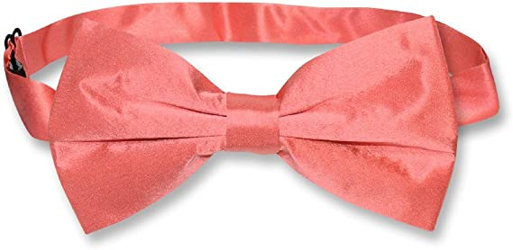 CORAL REEF bow tie watermelon pink tie CORAL bow tie newborn toddler boys bow tie Bow Tie mens coral bow tie Coral double bow bow tie