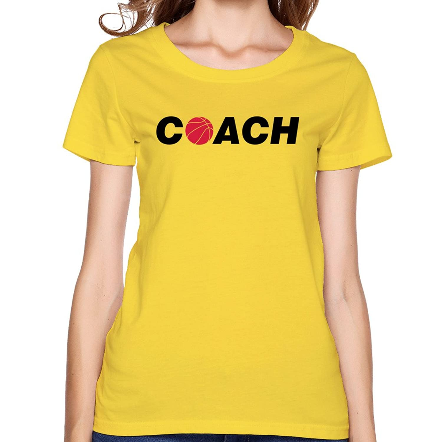 Women's Tee Coach White