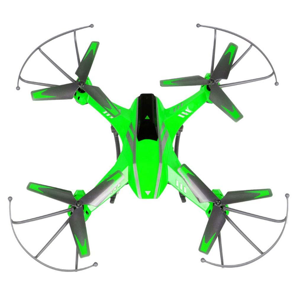 ZNHL Fernsteuerungsflugzeug-Vierachsenflugzeuge Unbemannter Fernsteuerungshubschrauber kann Kamera-schöne geführte Lichter Laden,Grün